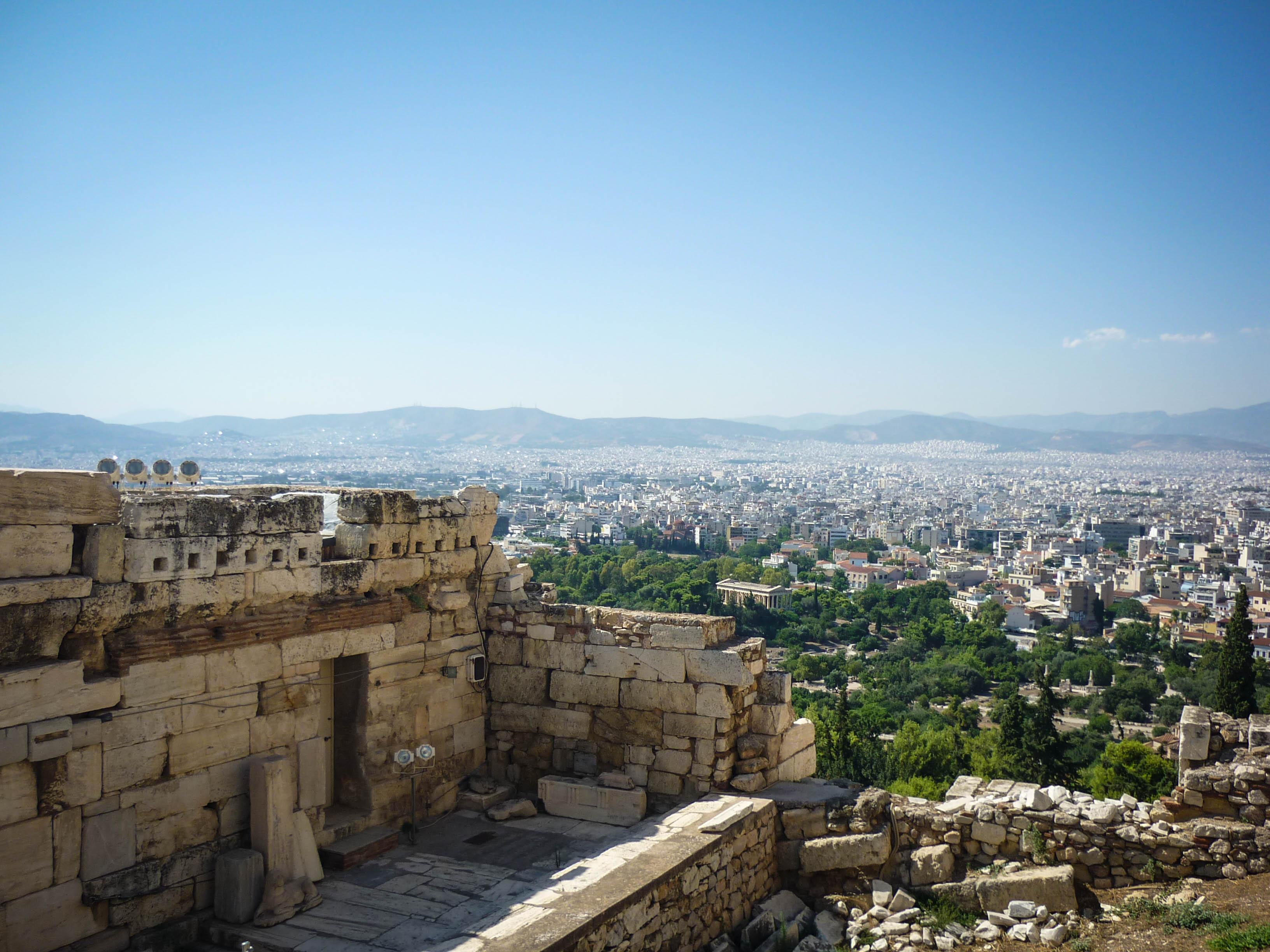 Atene z Akropole